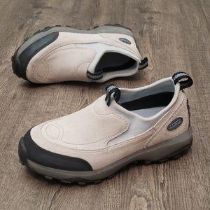 LL Bean Hiking Mocs Women's Tan Suede Camper Shoes